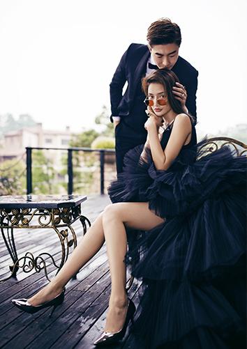 时尚情绪主义-黑纱裙