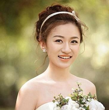2014最新韩式新娘发型参考