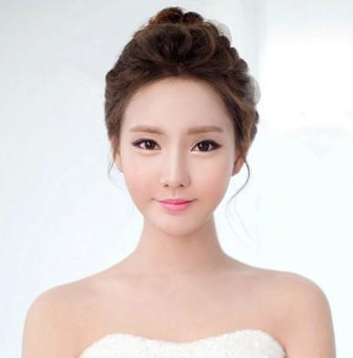 韩式婚纱照新娘发型推荐
