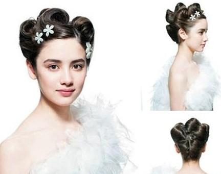 2014欧式新娘发型推荐