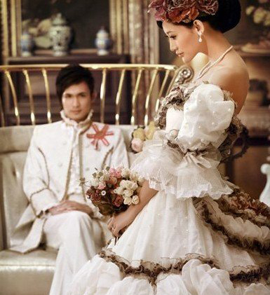 时下最流行的婚纱照风格