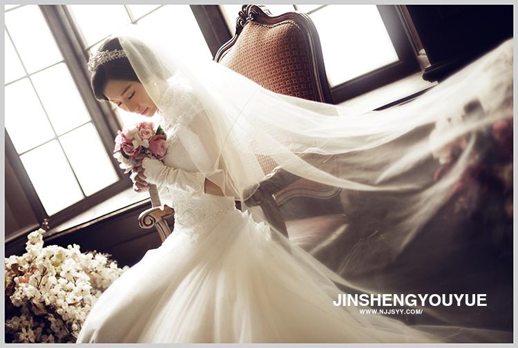 南京拍婚纱照百变造型high起来图片